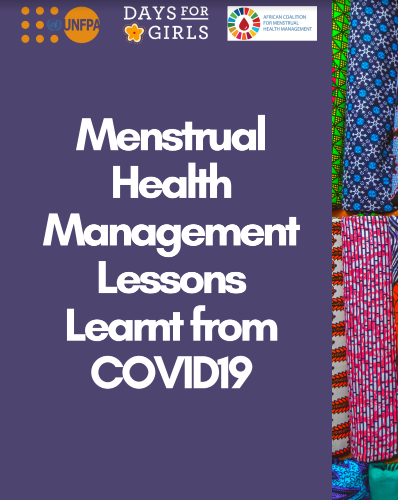 POSITION PAPER: Menstrual Health Management Lessons Learnt from COVID-19