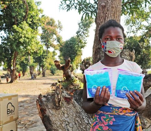 Managing menstruation amid a cyclone and a pandemic
