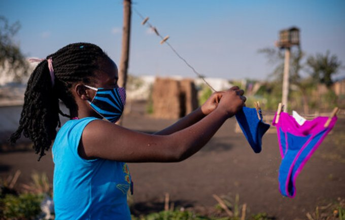 Mozambique, Angola help girls manage menstrual health and hygiene in crises and beyond
