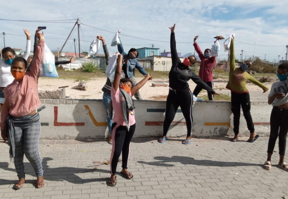 How girls in informal settlements are coping with menstrual health during South Africa's COVID-19 lockdown