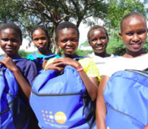 Safeguarding the menstrual health of adolescent girls affected by the rising waters of Kenya's rift valley lakes