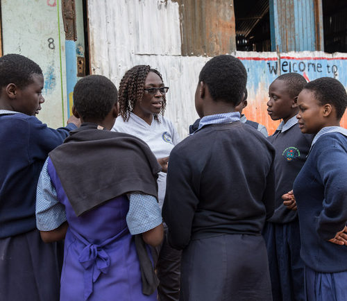 A place of hope: mentoring girls in Kibera informal settlement through the COVID-19 lockdown